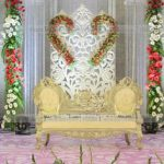 Decoration design with flowers