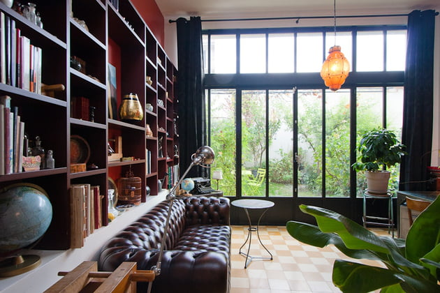 Décoration salon style anglais