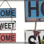Decoration murale home sweet home