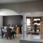 Décoration plafond salon peinture