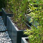 Decoration jardin avec tube de bambou