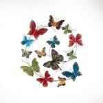 Decoration papillons murale
