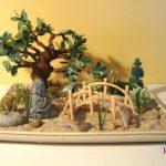 Décoration jardin zen miniature