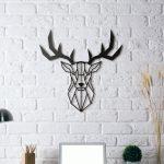 Tête animaux décoration murale