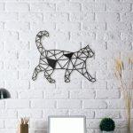Décoration murale chat