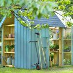 Décoration cabane jardin