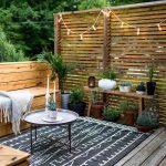 Decoration de jardin avec du bois