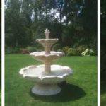 Decoration de jardin en pierre reconstituée