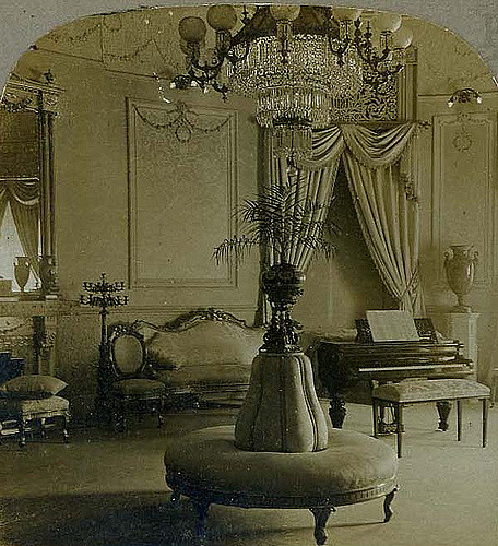 Decoration salon 1900