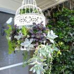 Decoration jardin a suspendre