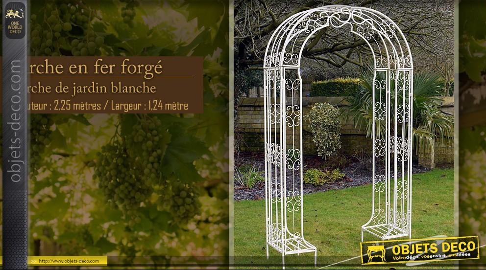 Décoration fer forgé pour jardin - Design en image