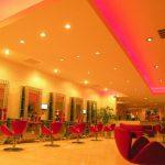 Neon decoration salon