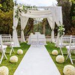Decoration jardin mariage