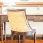 Décoration intérieure salon vintage