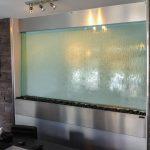 Décoration mur d'eau intérieur