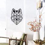 Décoration murale loup