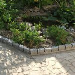 Bordure decoration jardin