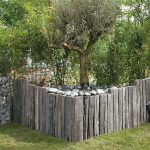 Ardoise décoration jardin