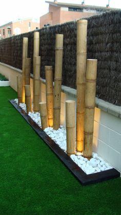 Decoration jardin bambou - Design en image
