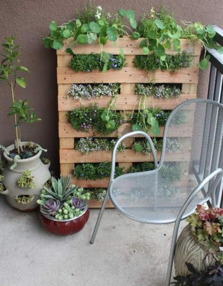 Décoration jardin avec récupération - Design en image