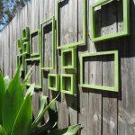 Décoration mur jardin