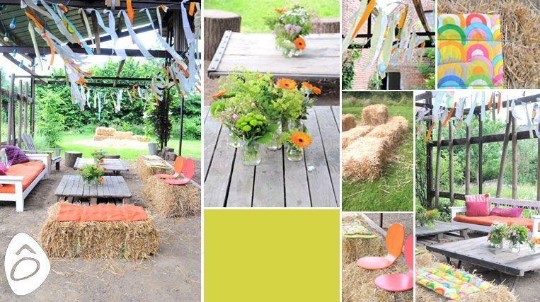 Décoration champêtre fait maison - Design en image