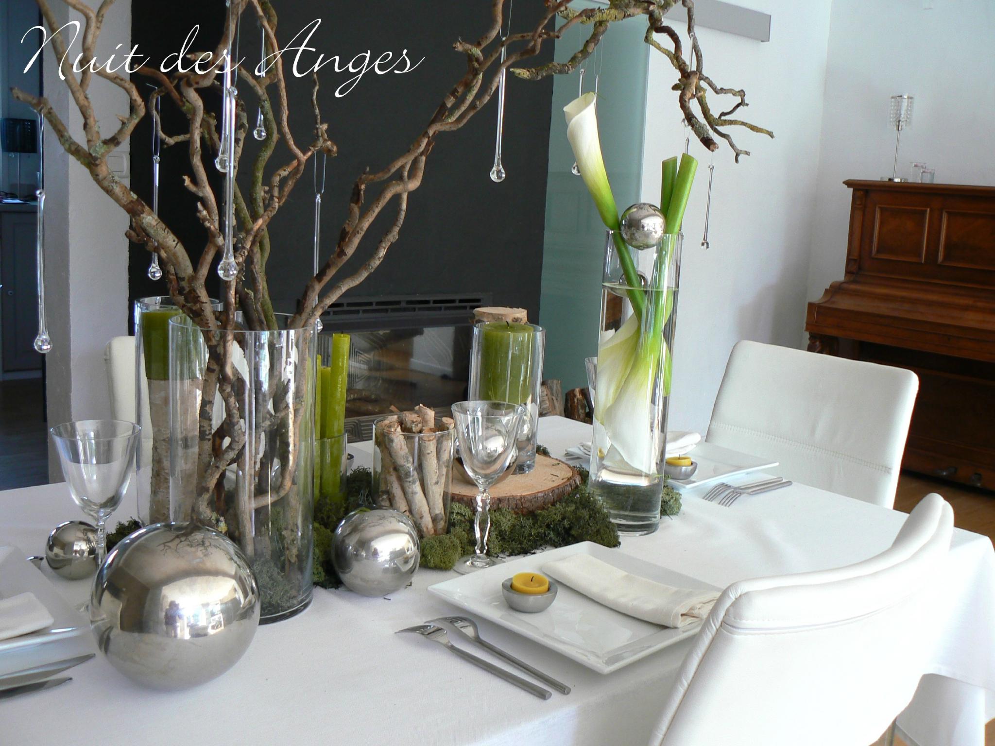 Decoration table jardin - Design en image