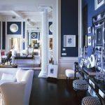 Decoration maison bleue