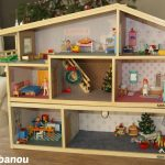 Décoration maison poupée