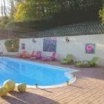 Décoration jardin extérieur piscine