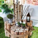 Decoration jardin en bois