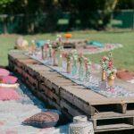 Décoration anniversaire jardin