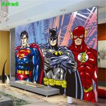 Decoration murale super heros