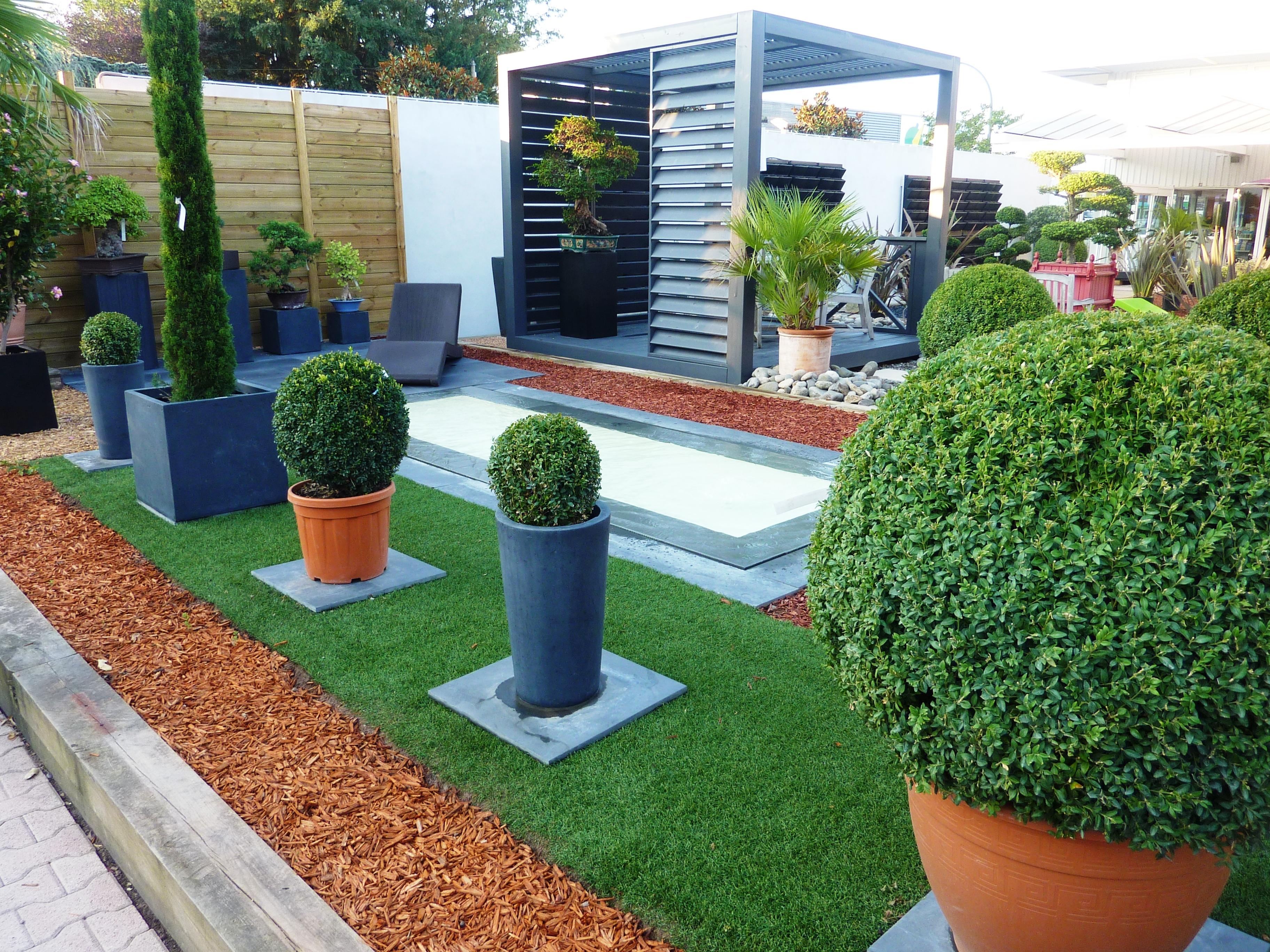 Modele decoration jardin - Design en image