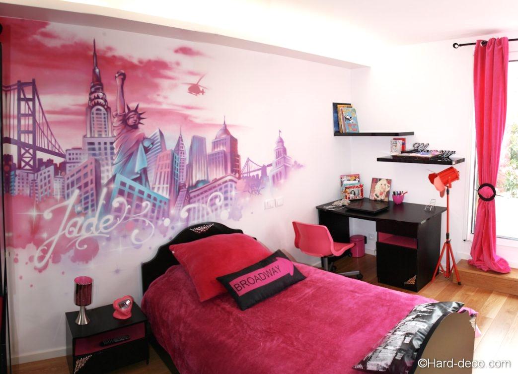 Decoration murale chambre fille - Design en image