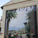 Décoration murale festival de cannes