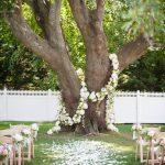 Decoration mariage exterieur jardin
