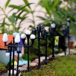 Decoration miniature jardin