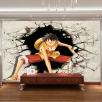 Decoration murale manga