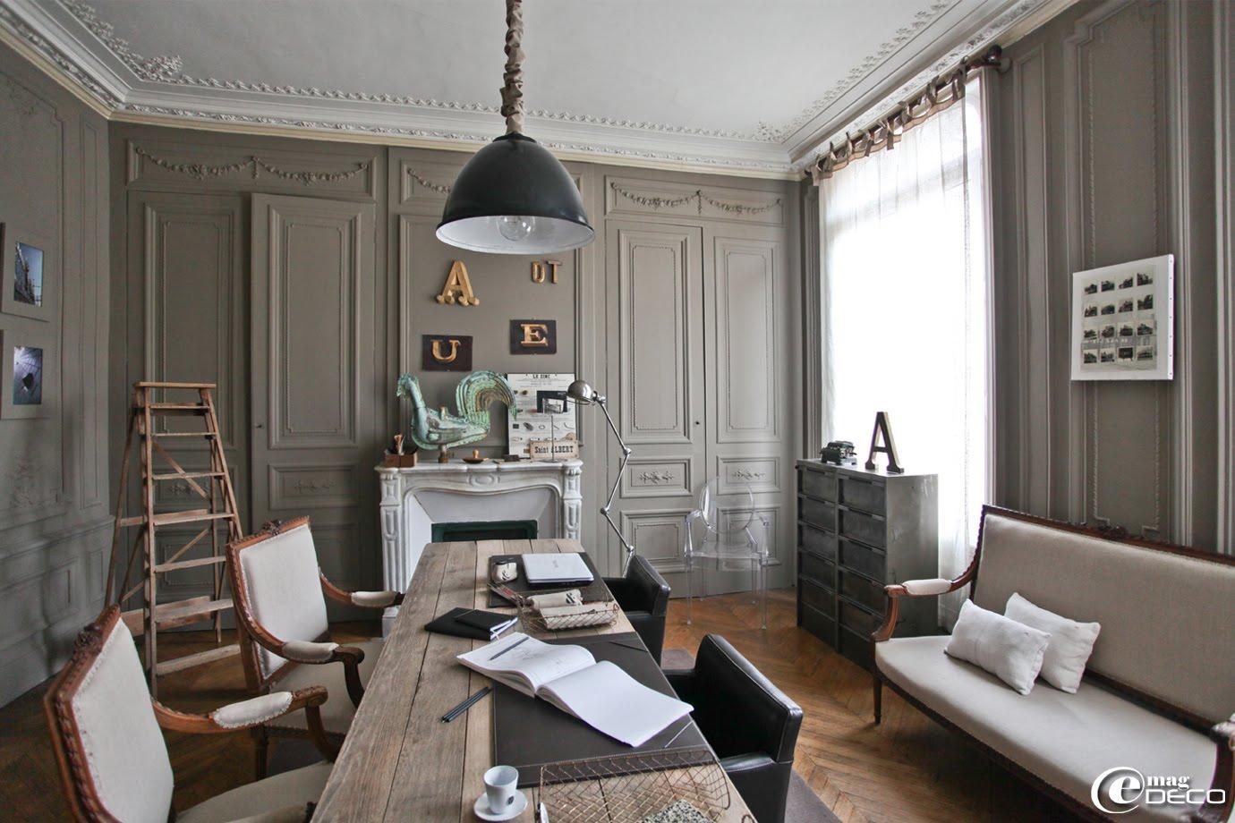 Décoration d\'intérieur maison bourgeoise - Design en image