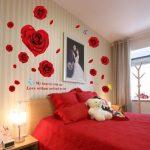 Decoration murale pour chambre romantique