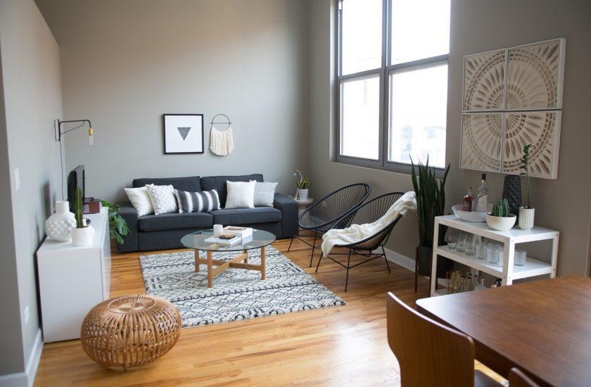 Decoration Interieur Noir Blanc Gris Design En Image
