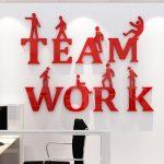Décoration murale bureau entreprise