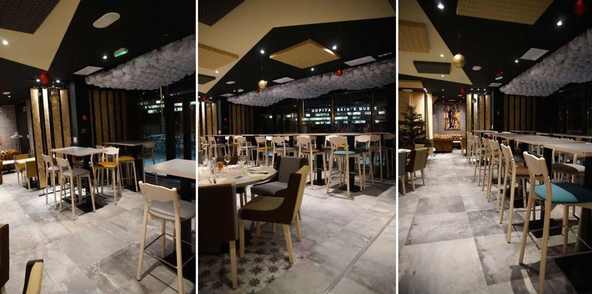 Decoration interieur salle restaurant
