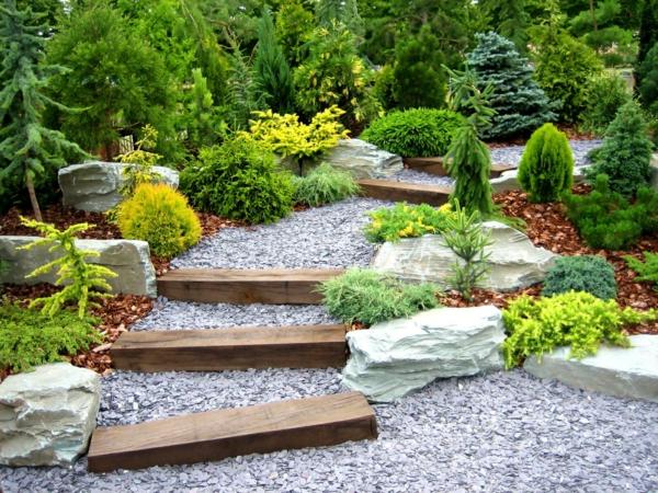 Décoration allée de jardin - Design en image