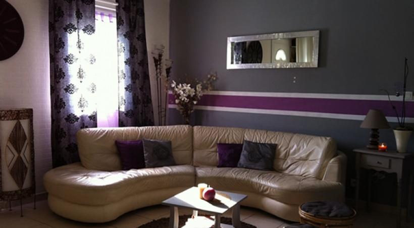Decoration Maison Chambre Mauve Design En Image
