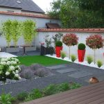 Décoration jardin contemporain