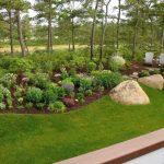 Rocher decoration jardin