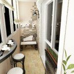 Décoration balcon design