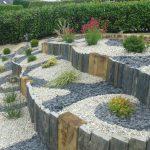 Ardoises decoration jardin
